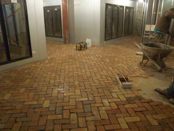 Brick Floor Inside The Hop Shop Beer Market State College
