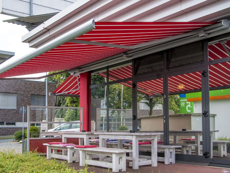 new product 58e59 c5d46 Commercial Retractable Awnings | Cassette Awnings for ...