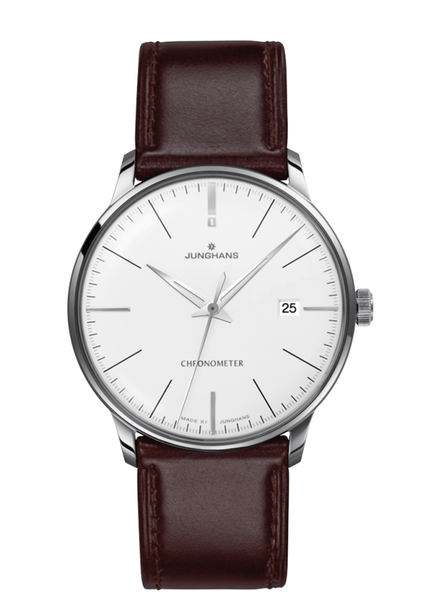 Ref. Nr. 027/4130.00 - First built in the 1930s and improved by further refinements into the 1960s today, the elegant Meister watches bear eloquent witness to Junghans' expertise in mechanical watchmaking.