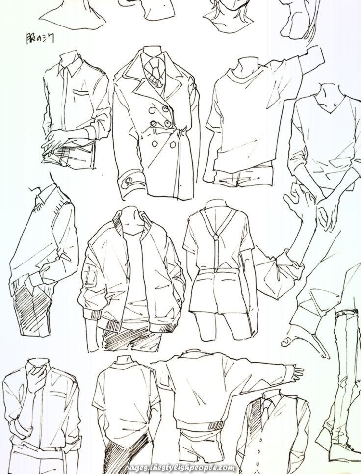Elegant Picture outcome for reference of how to attract garments #clothesdrawing