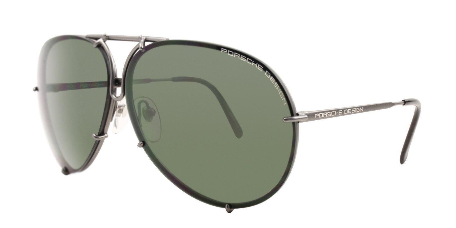 14dfeb1beb Porsche Design - P8478 Gray - Green-sunglasses-Designer Eyes ...