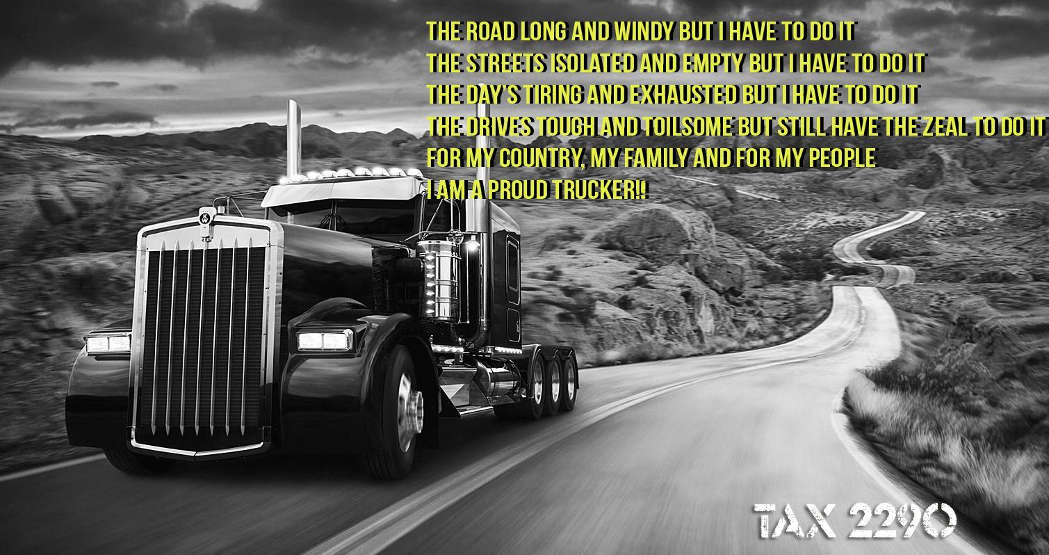 Tax2290 Trucking life, Trucks, Special prayers