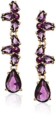 Kate Spade New York Linear Amethyst Drop Earrings Check Out This Great Product