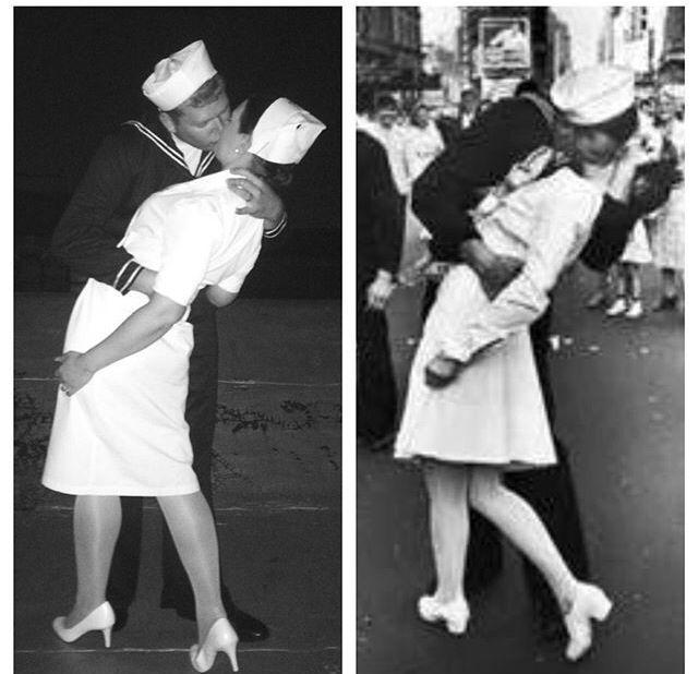 a894161d1fd nyc #2015 #halloween #sailorandnurse #kiss #sailorandnursekiss ...