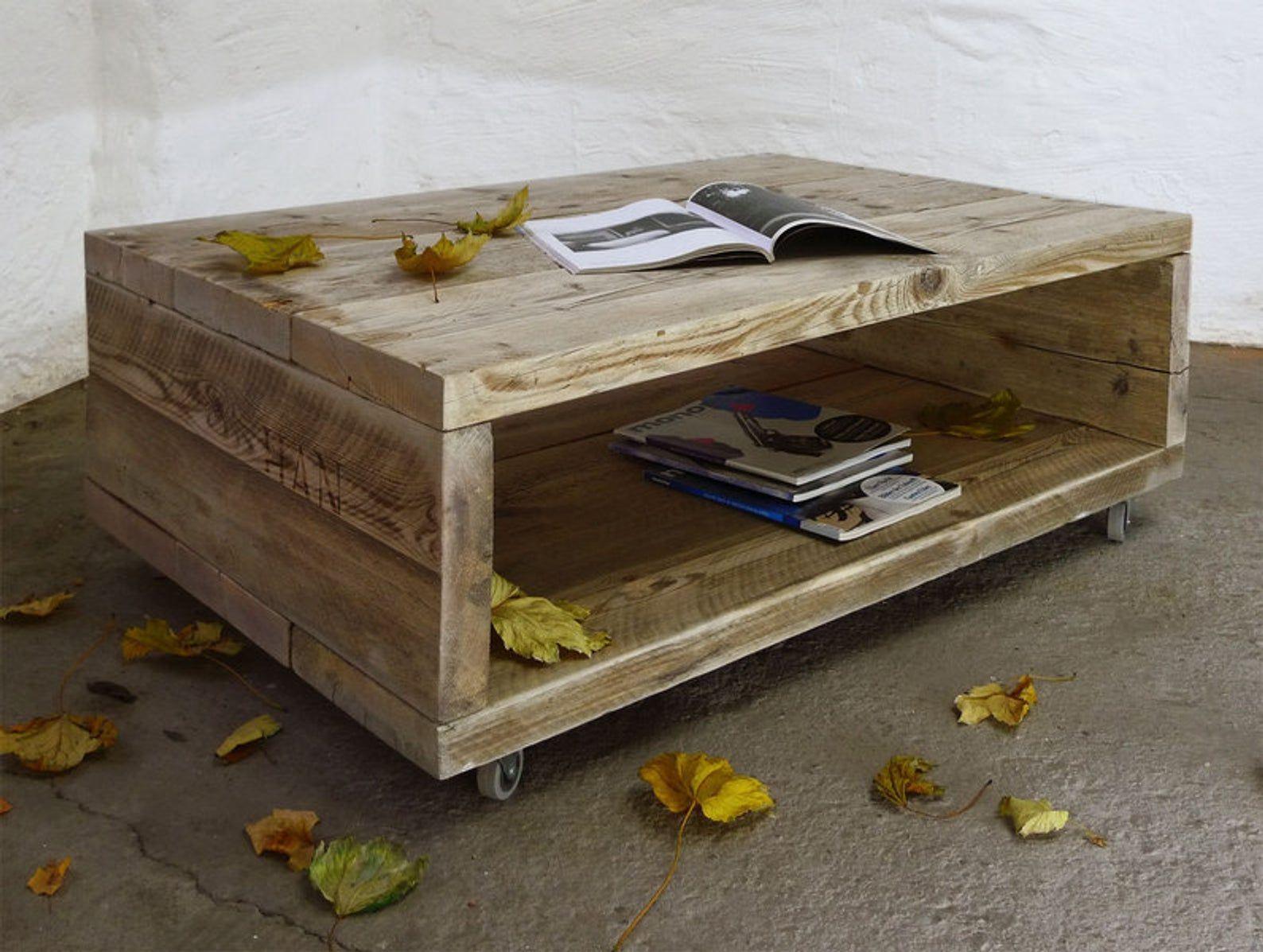 Upcycle Berlin Couchtisch Auf Rollen Tv Tisch Rolltisch Etsy Upcycle Design Coffee Table Bed Design