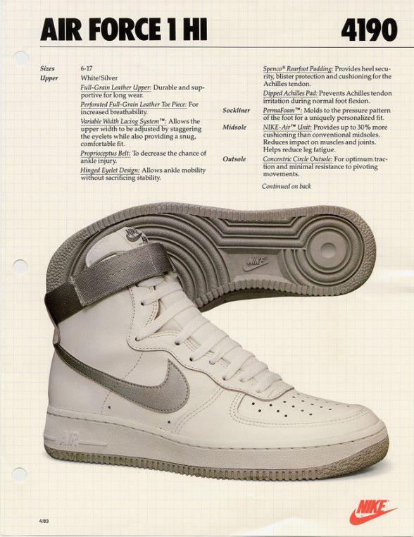 80s nike air force 1