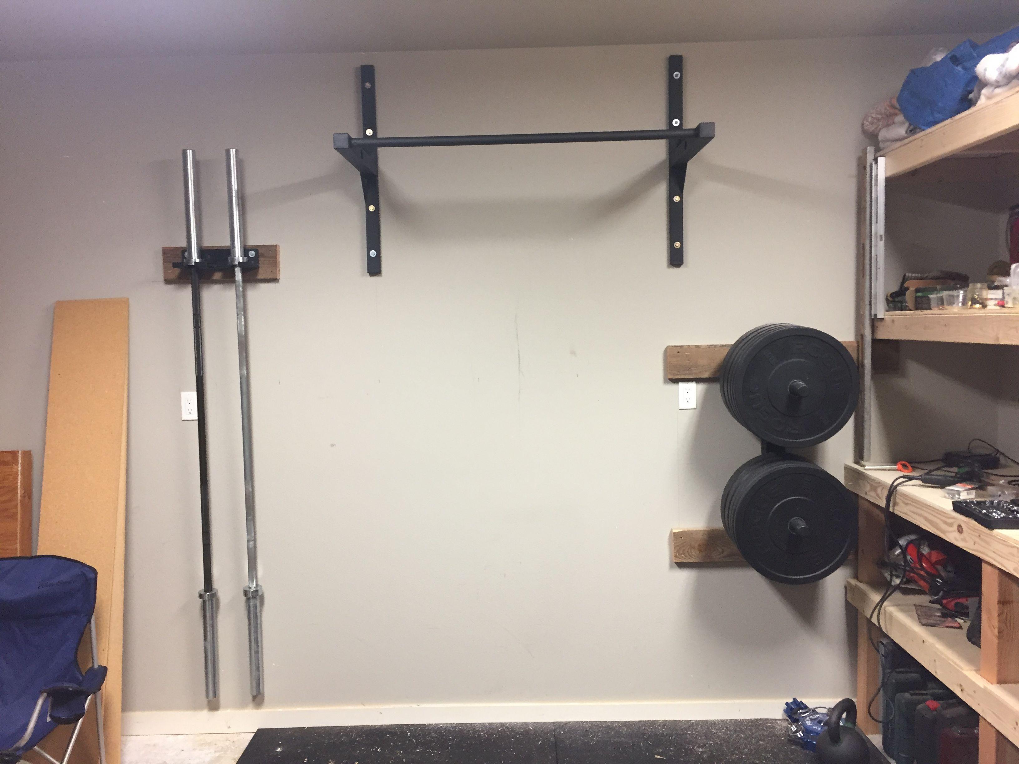 Stud Bar Ceiling Or Wall Mounted Pull Up Bar Diy Home Gym Gym Room At Home Diy Garage