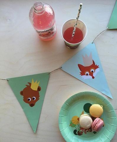 fiesta infantil platos de papel shopnordico