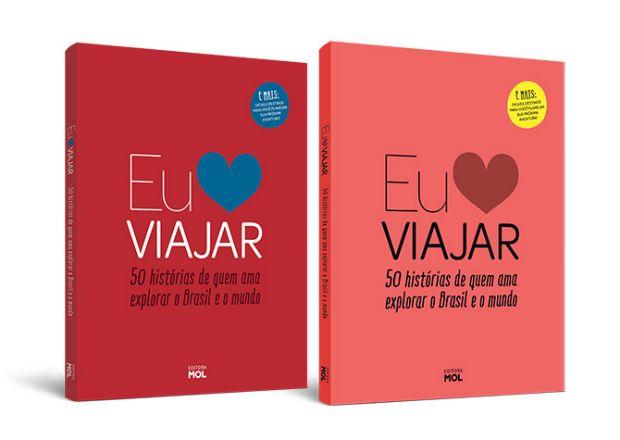 Livro Eu Amo Viajar da Editora Mol.