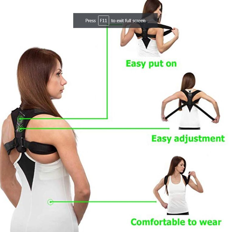 Best Back Brace For Posture Only Us 9 99 Shoulder Posture Brace Back Brace For Posture Back Posture Corrector