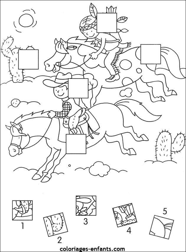 Les jeux de coloriages-enfants.com | Jeux indien, Jeux coloriage et Jeux dessin