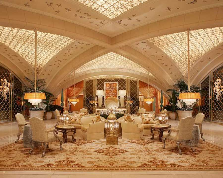 Ultra Modern Hospitality Interior Design Encore Hotel At Wynn Las Vegas Spa And Salon Las Vegas Decoracion De Unas Decoracion De Interiores