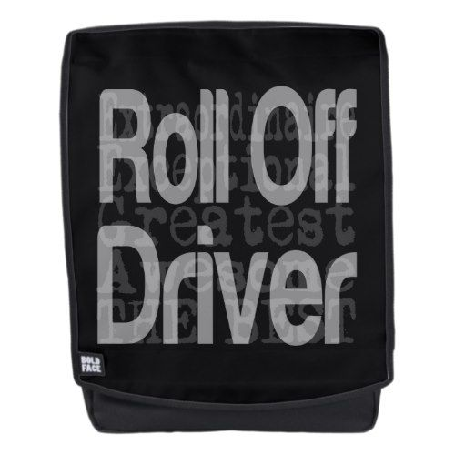roll off driver
