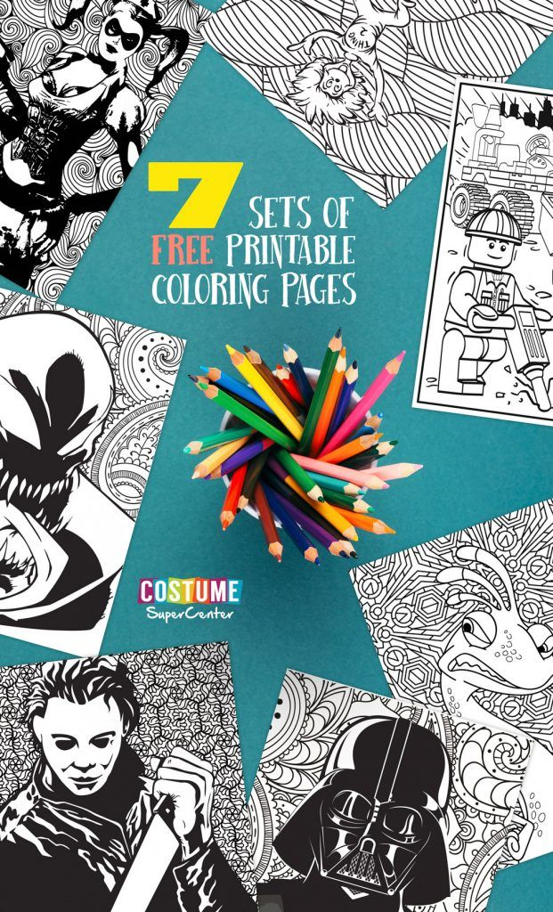9 Free Coloring Pages Free printable coloring pages