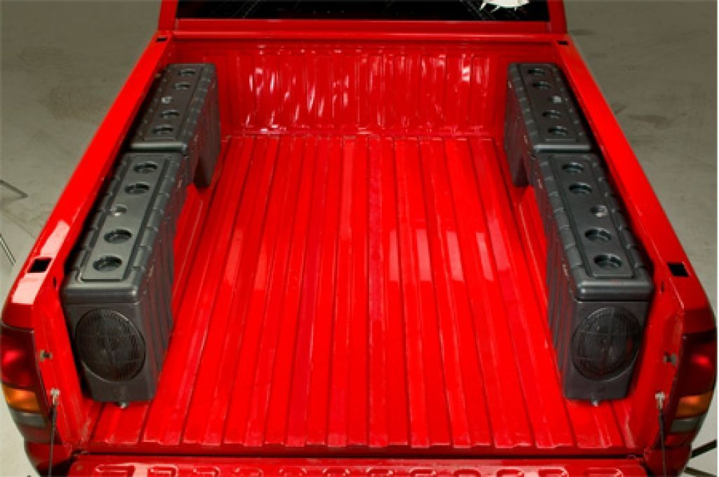 Slide Out Truck Bed Storage In 2020 Truck Bed Storage Truck