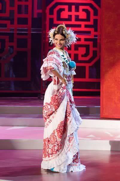 Recordando los Trajes Típicos de Panama - Reinas de Belleza Internacional -  ♔  7861065ec2c