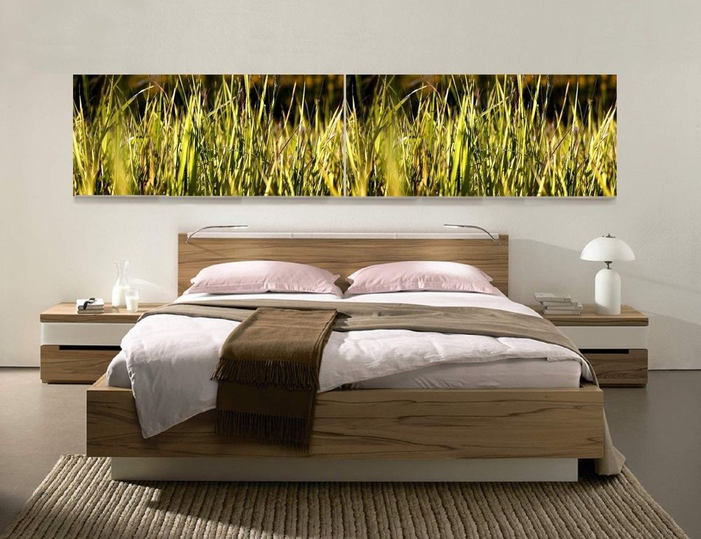 Ikea Lounge Mobel ~ Xxxl panorama leinwand set gras natur bild gemÄlde lounge