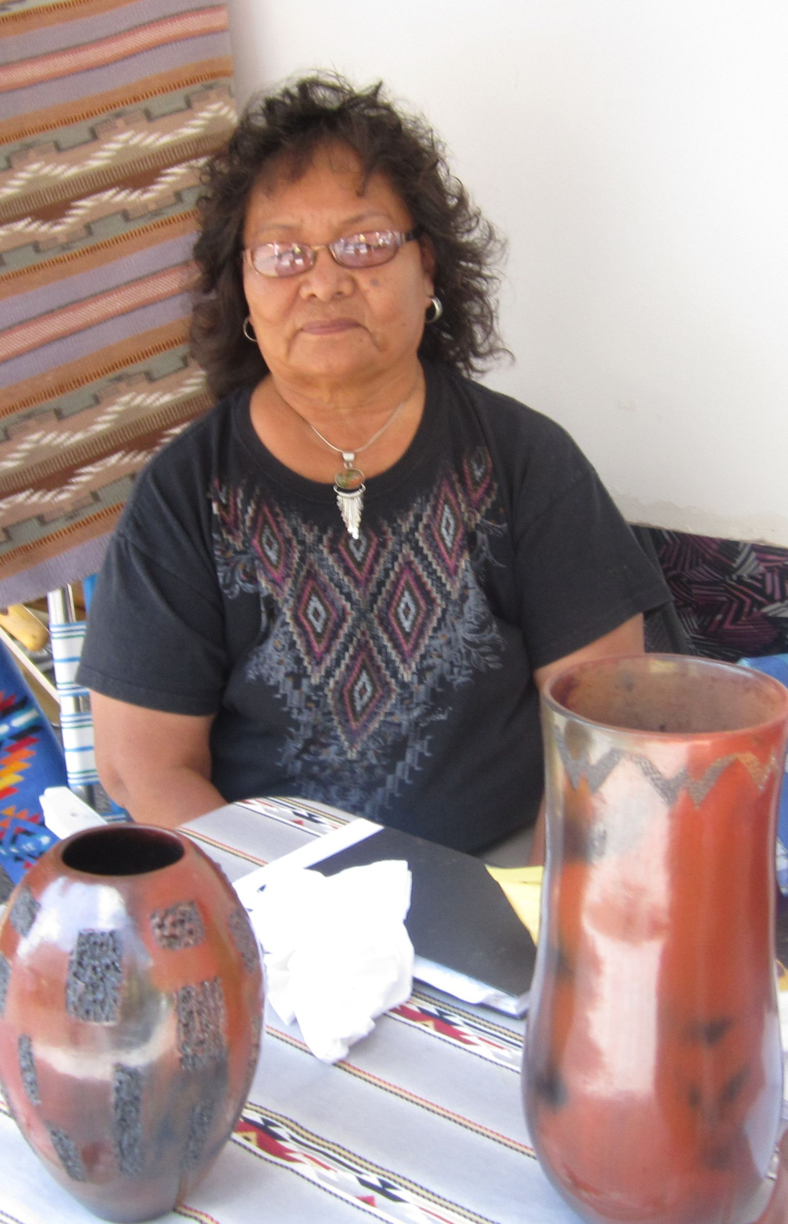 Alice Cling, Navajo potter of extraordinary skill and artistry