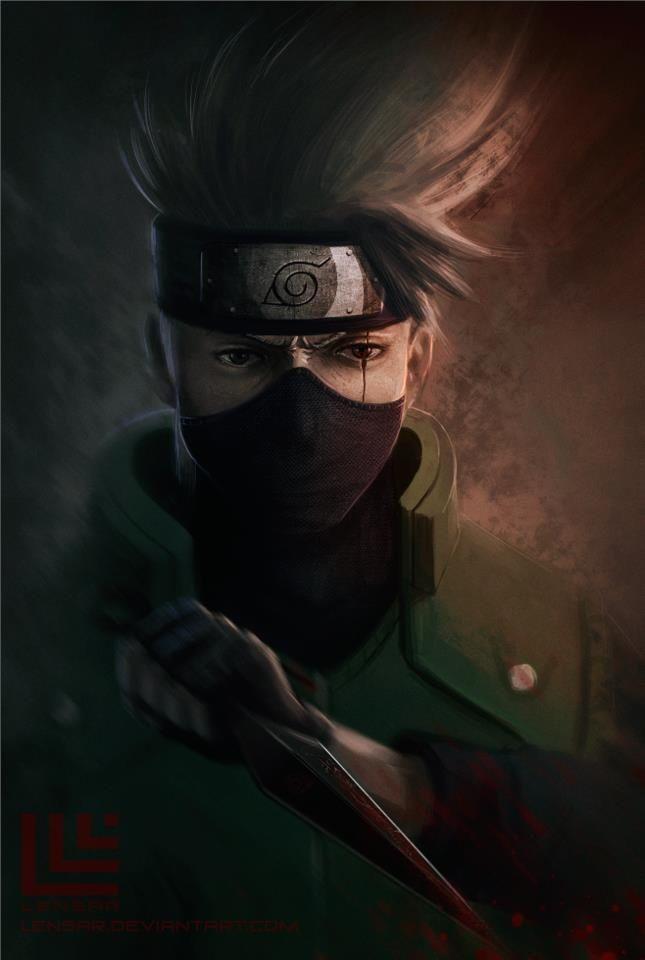 Kakashi Hatake Naruto Kakashi hatake, Naruto shippuden
