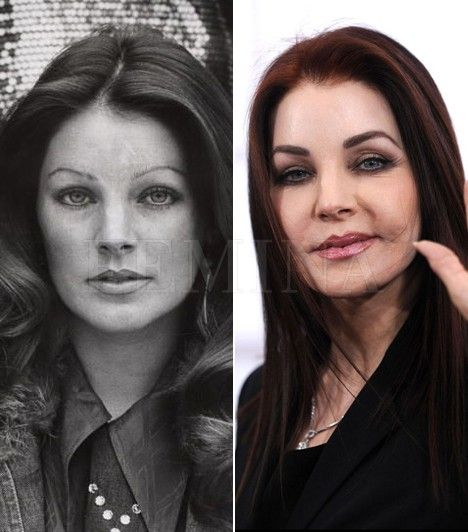 Priscilla Presley Celebrities Then And Now Elvis And Priscilla Priscilla Presley