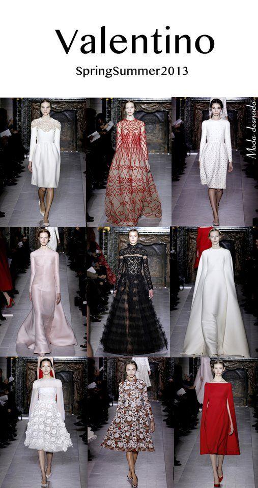 Valentino · Haute Couture · SS/2013 Paris