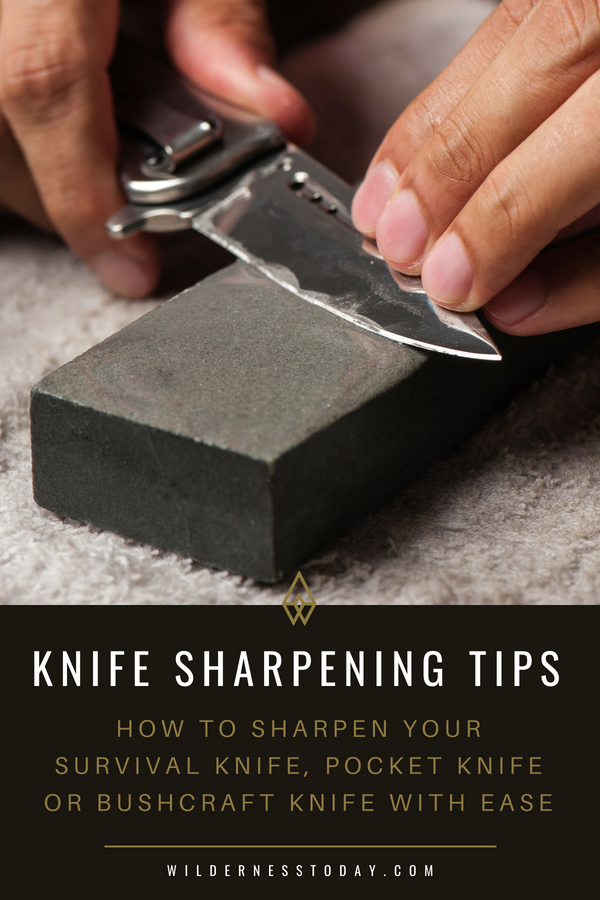 Learn How To Use A Whetstone To Sharpen Just About Any Knife Howtodo Knifesharpening Knives Knife Sharpen Whetstone Knife Sharpening Knife Pocket Knife