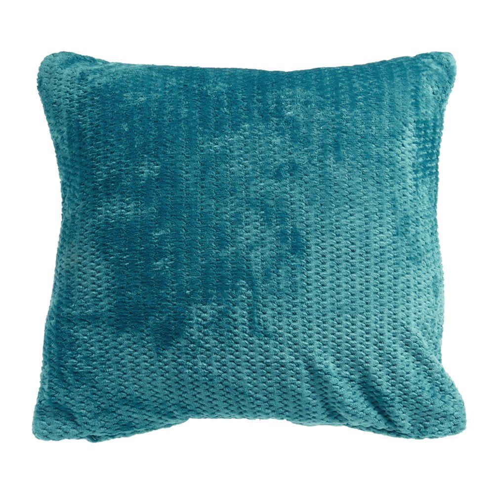 Wilko Jumbo Cushion Dark Teal 55 x 55cm Image Teal