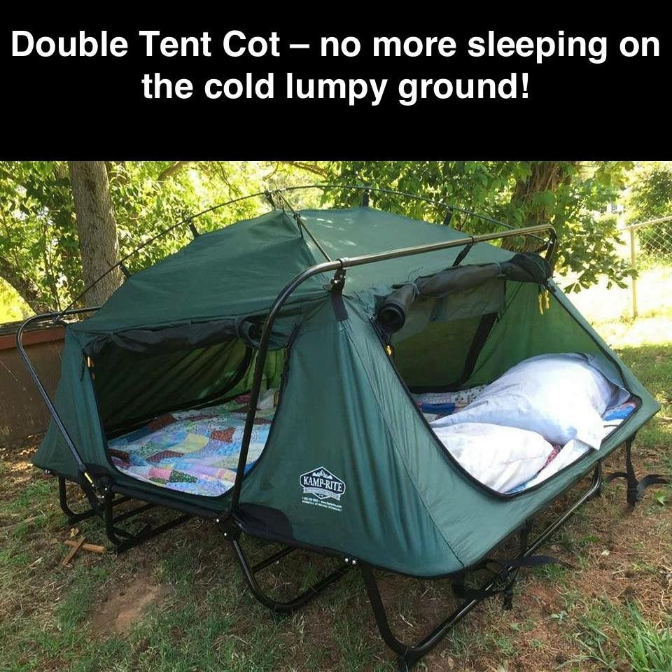 Shop The Latest Off Ground Tent Cots And Other Camping Gear At Kamp Rite To Outfit Your Next Outdoor Adventure