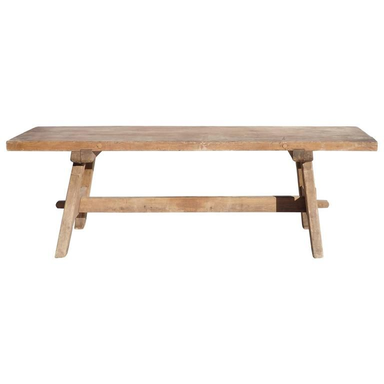 Swedish Trestle Table | Trestle tables, Console tables and Tables