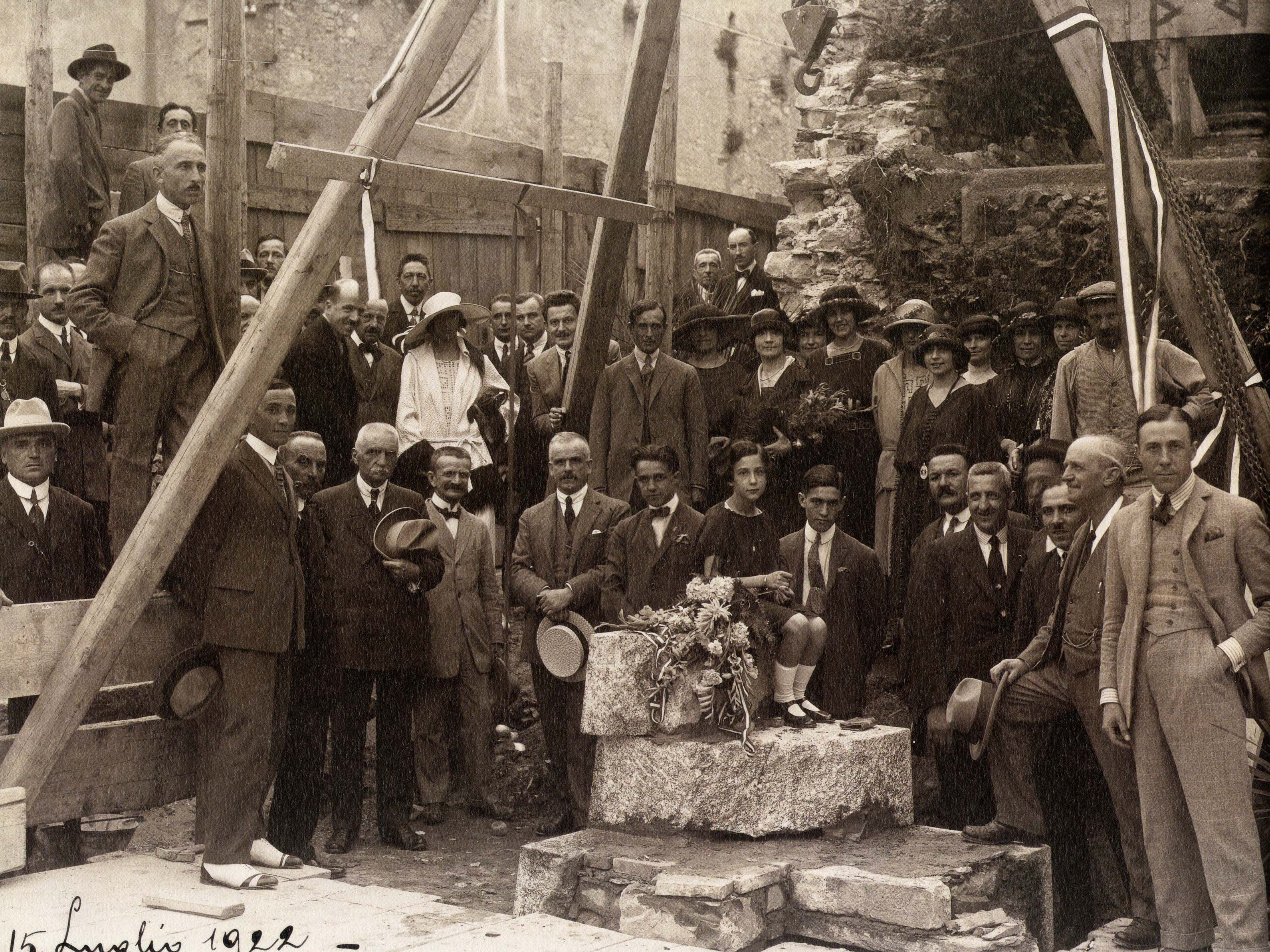 Como, 15/07/1922 - The laying of the foundation stone