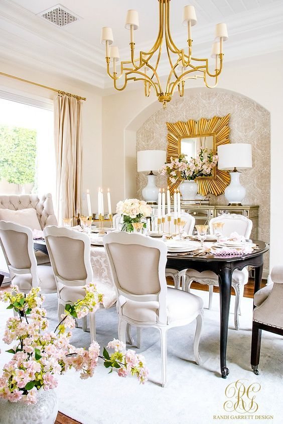 Romantic Dining Room: Romantic Valentine's Day Home Tour + Styling Tips