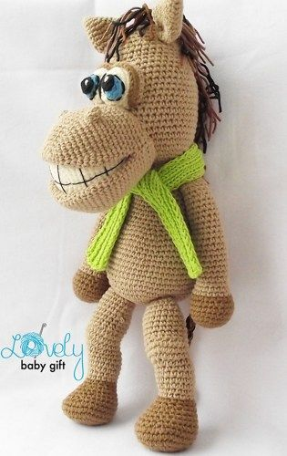 Horse Crochet Pattern, Amigurumi Horse, Crochet Pattern Animal, CP ...