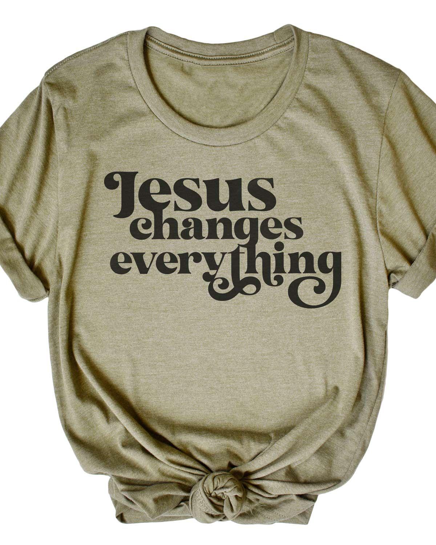 Jesus Changes Everything - Tee - Large