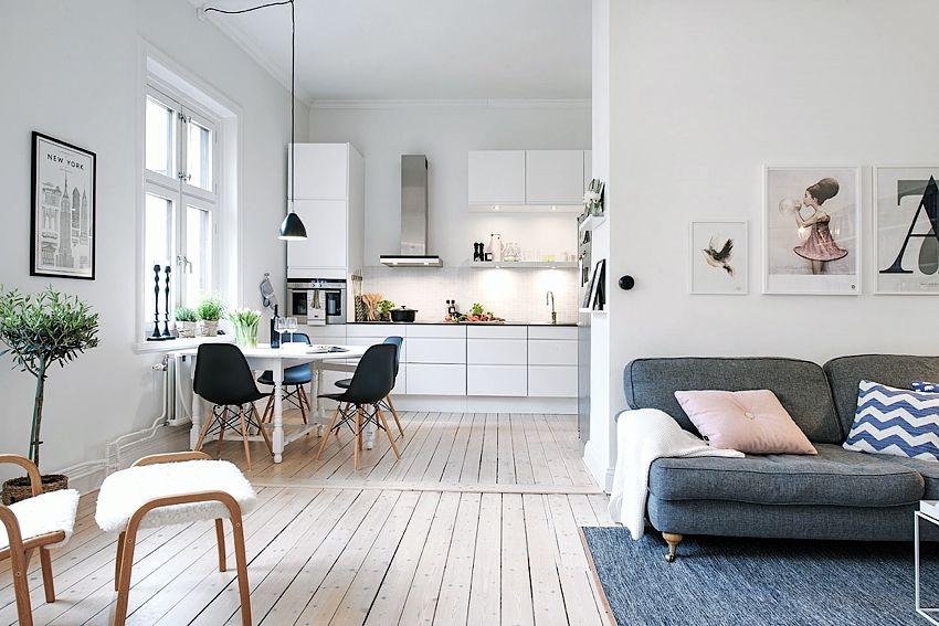 Impecable y espacioso apartamento n rdico de 58m2 casa y for Arredamento svedese