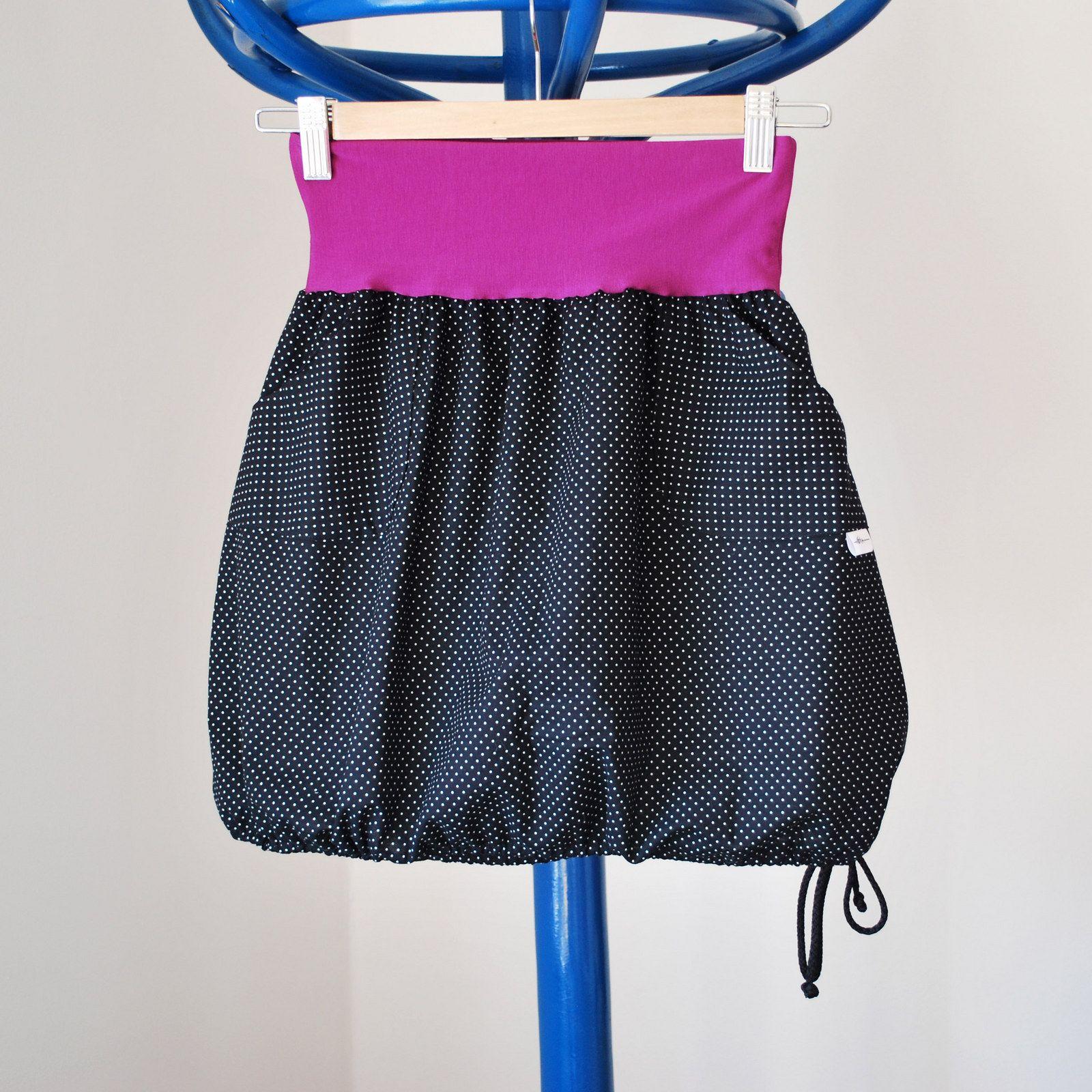 88c024b91b4a Puntíčkatá do balónku Krátká sukně z krásné bavlněné
