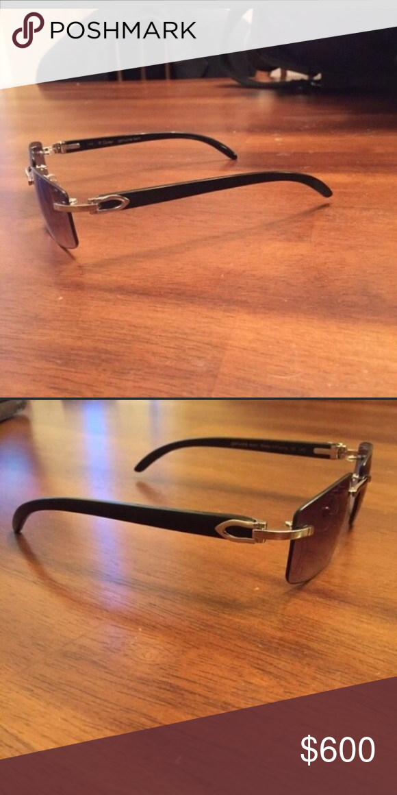 6d0ec0cc75c Cartier sunglasses (buffs) Slightly used 100% Authentic comes with receipt  and Box Cartier Accessories Glasses