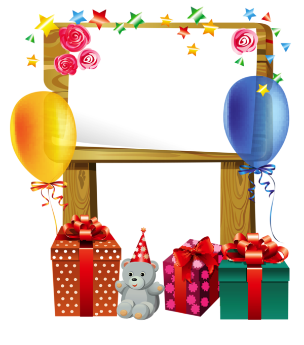 placards border birthday birthday clipart happy birthday