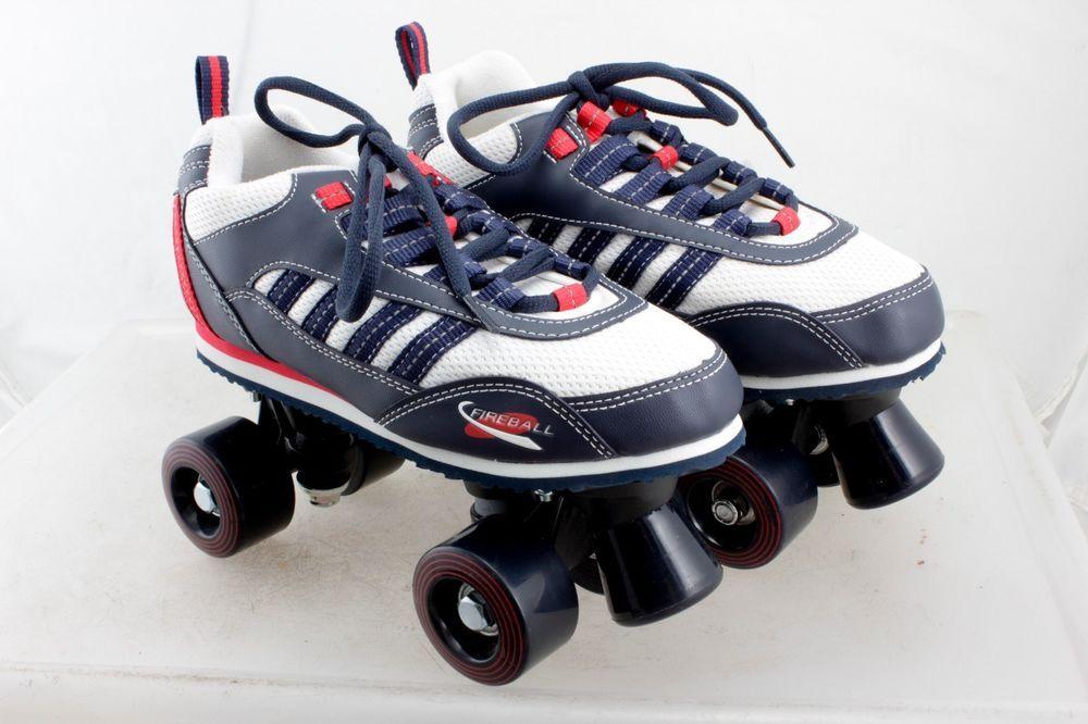 Fireball quad roller skates youth size 5 fireball quad