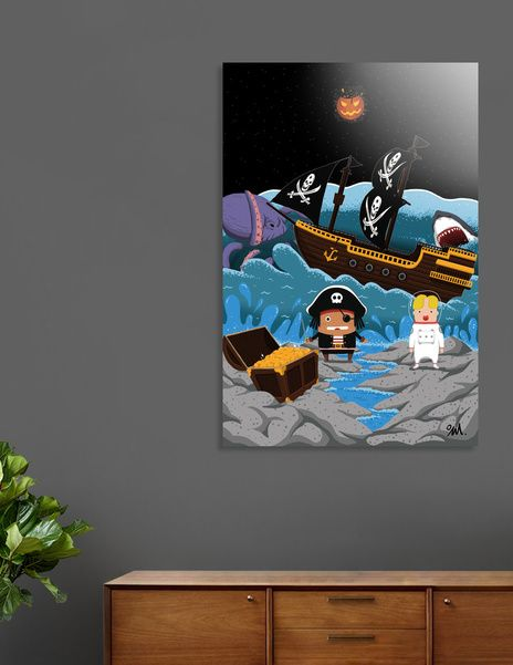Discover «Sub_Pirates Land-1», Exclusive Edition Aluminum Print by seok won Kim - From $59 - Curioos