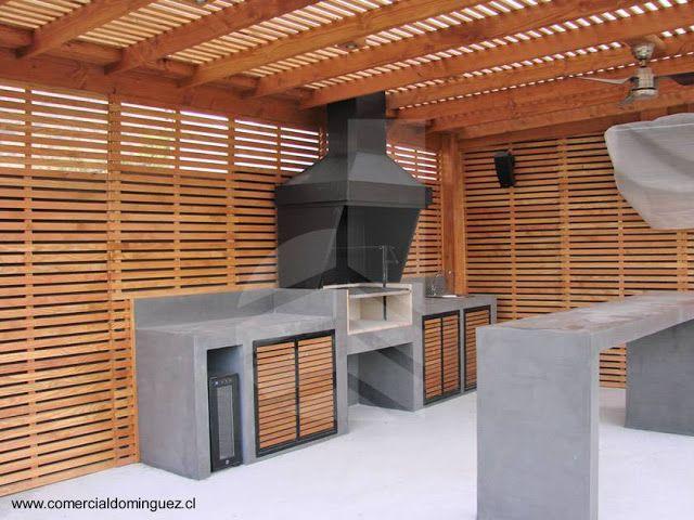 Arquitectura de casas modelos de quinchos terraza for Modelos de techos para terrazas