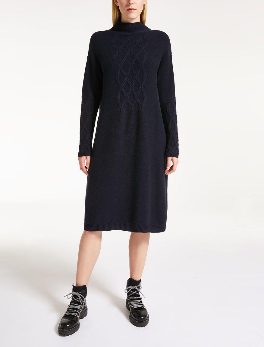 20186e0b41a1 Abito in filato di lana e cachemire