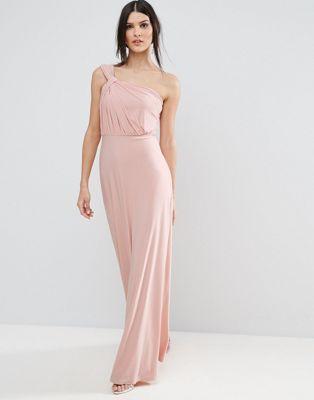 À Longue Ondine Nouer GrecMariage Robe Asos Style fgyY7b6