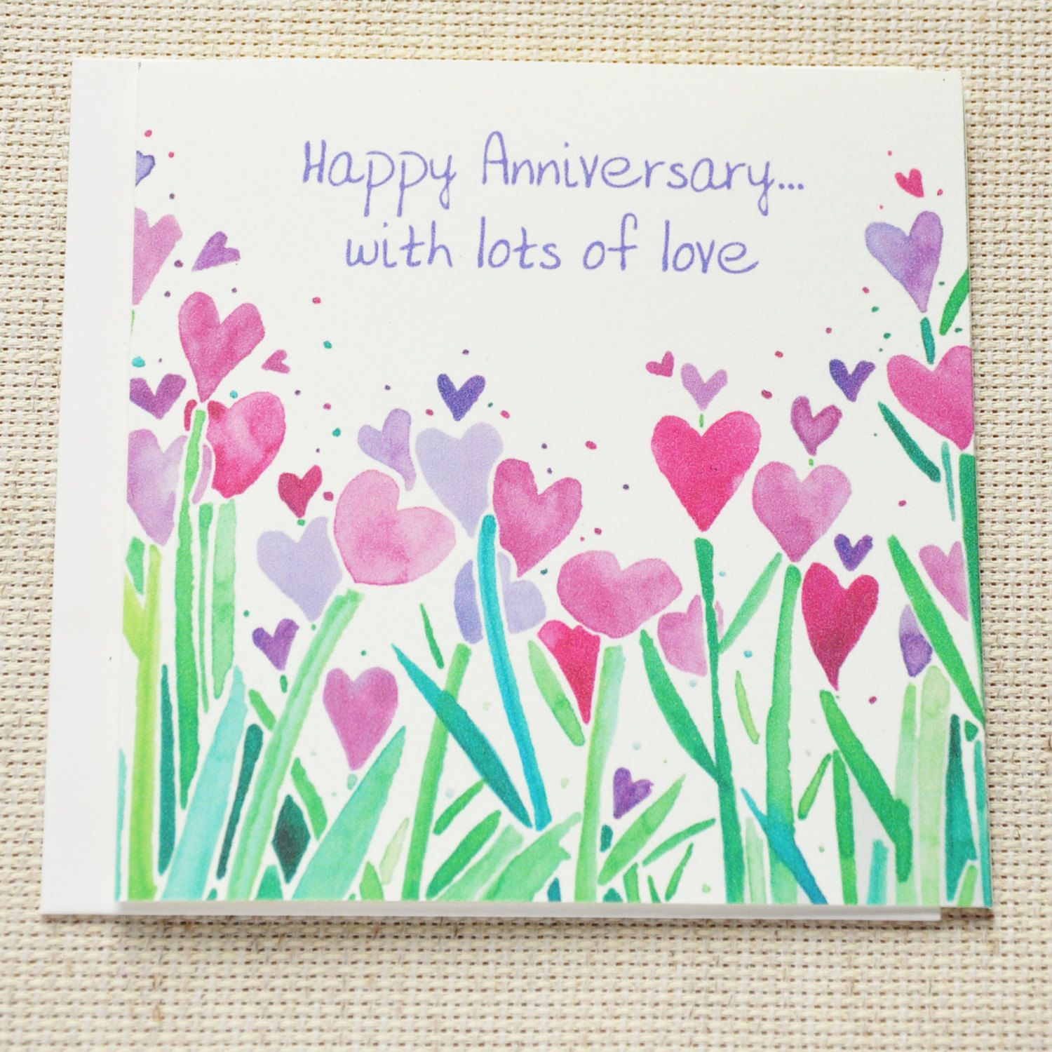 Happy Anniversary Card Cute Happy Anniversary Card For Couple