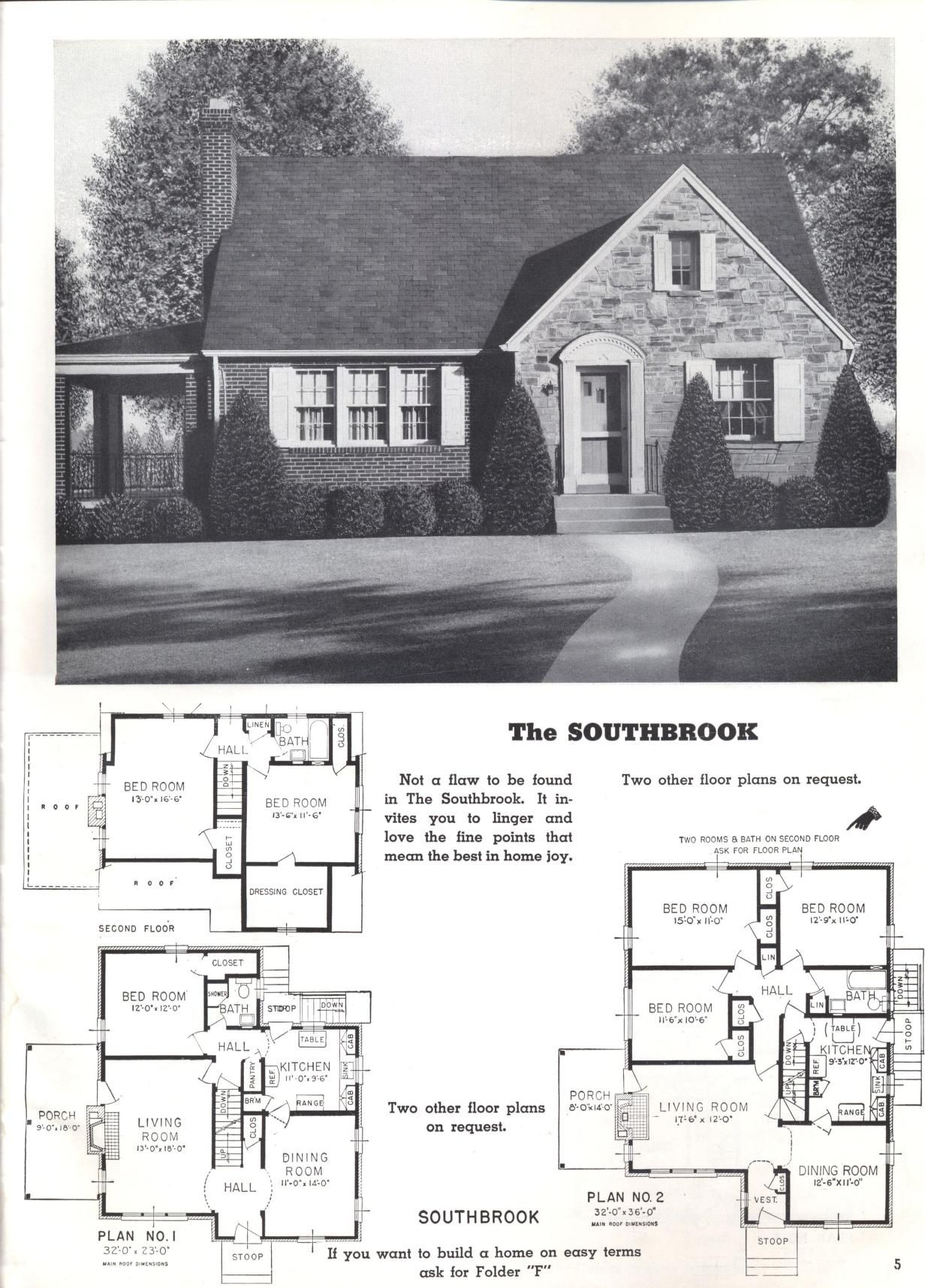 Better Homes At Lower Cost A 50 By Standard Homes Co Publication Date 1950 Vintage House Plans House Plans Floor Plans