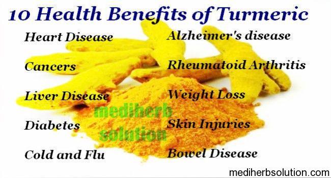 turmeric has many amazing health benefits for human body