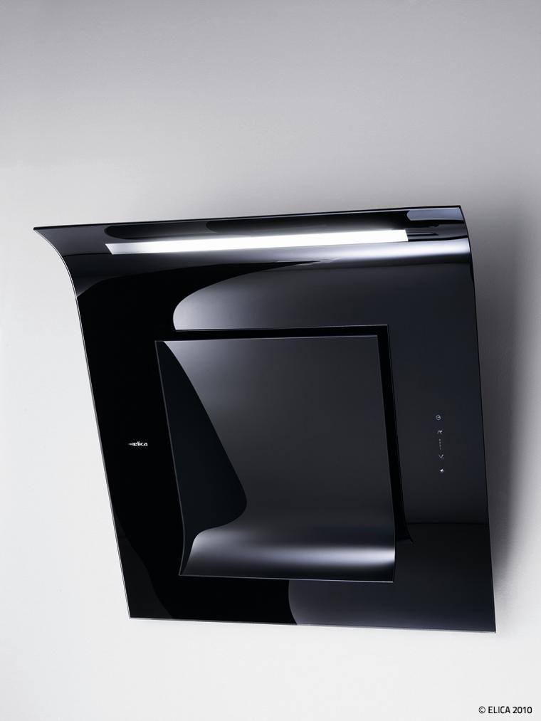 elica leaf extractor hood contemporary contemporary. Black Bedroom Furniture Sets. Home Design Ideas