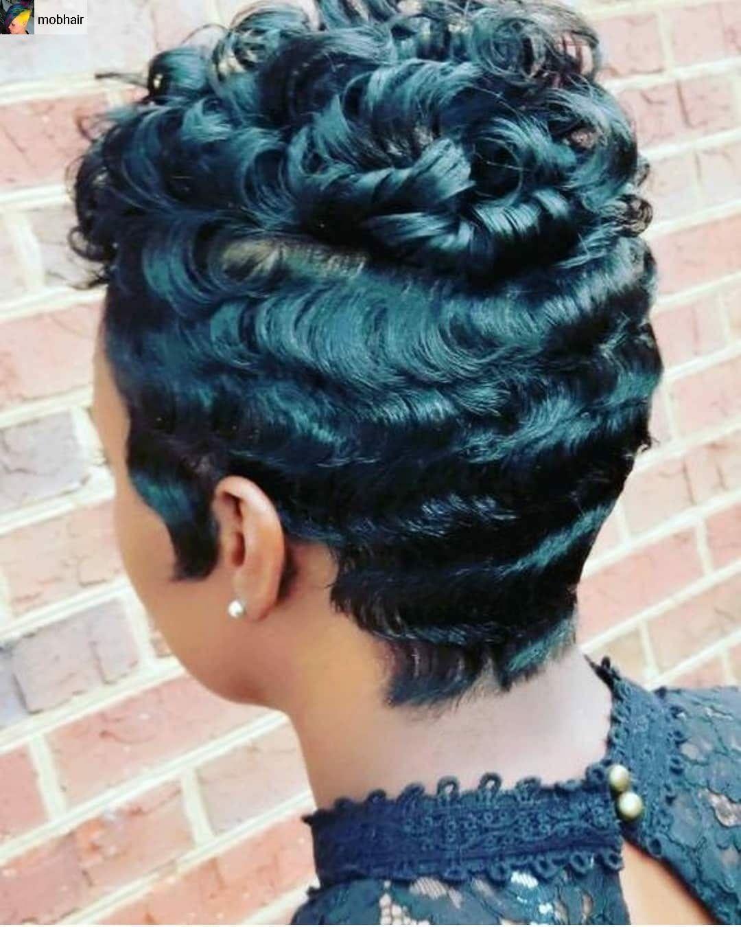 Black Hair Salons Columbus Ga : black, salons, columbus, Teri's, Salon, Columbus, Healthy, Black, Short, Sassy, Hair,, Pretty, Hairstyles,