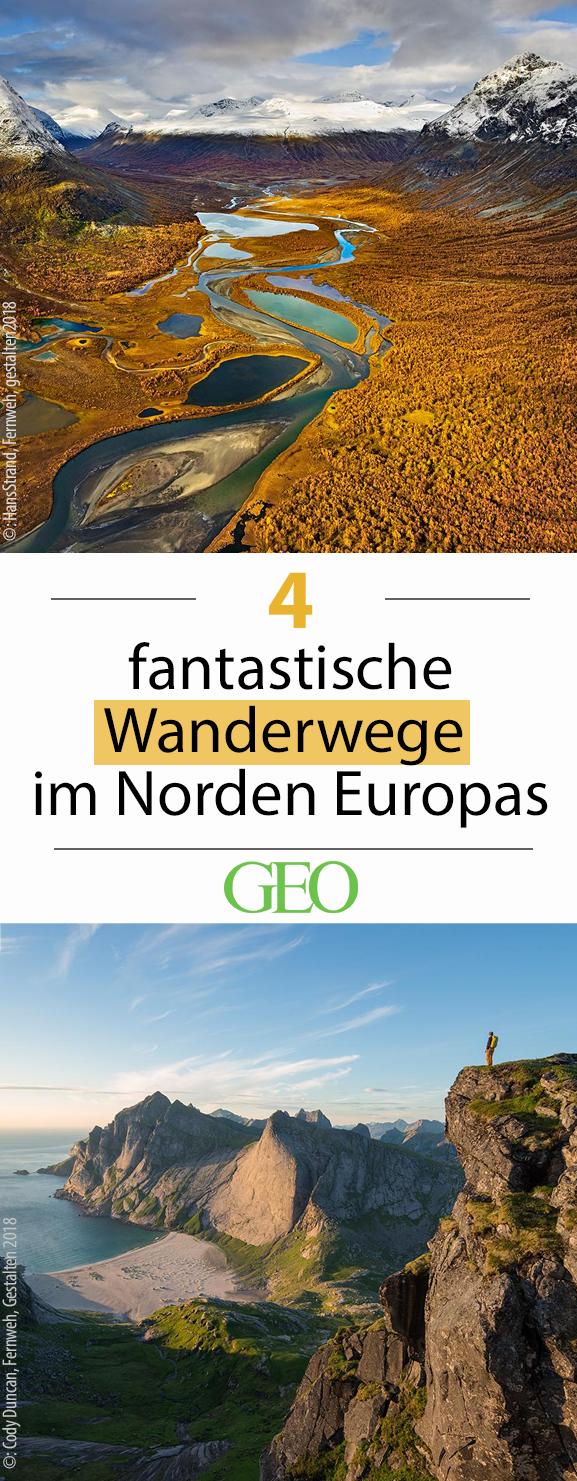 Fantastische Wanderwege im Norden Europas
