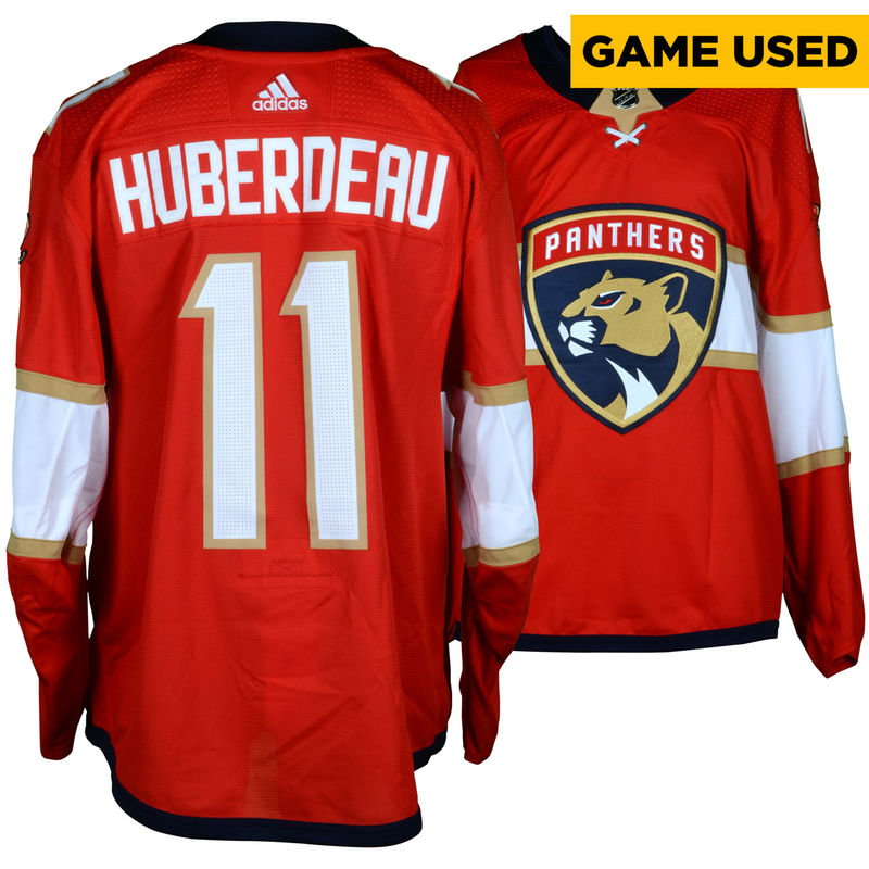 outlet store 19110 c5e52 Jonathan Huberdeau Florida Panthers Fanatics Authentic Game ...
