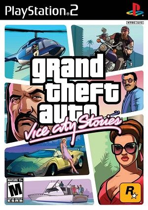 Grand Theft Auto Vice City Stories Sony Playstation 2 Game In 2020 Grand Theft Auto Grand Theft Auto Series Rockstar Games